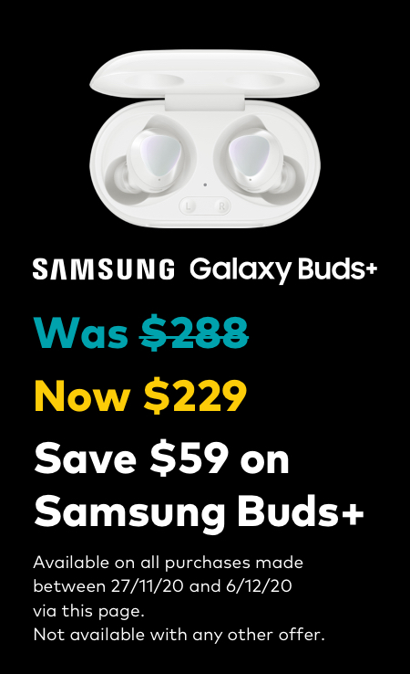 Black Friday - Galaxy Buds Plus