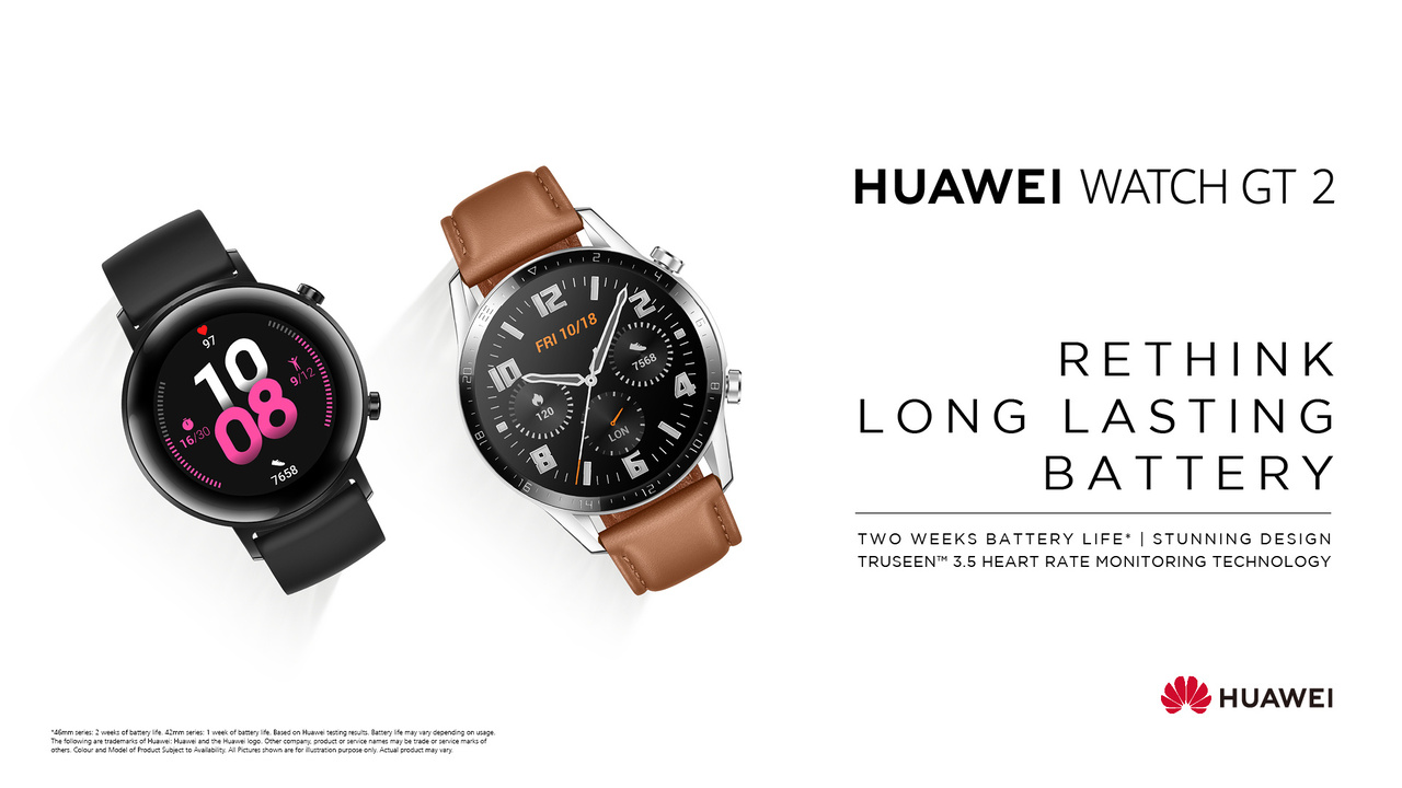 Huawei Watch GT2 - Rethink Long Lasting Battery