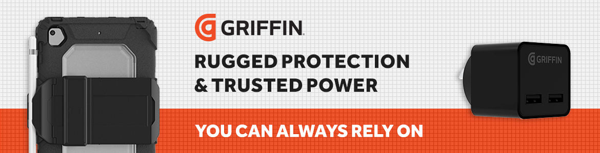 Griffin - Rugged protection & trusted power you can always rely on